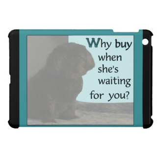 Cute Dog looking for You Cover For The iPad Mini