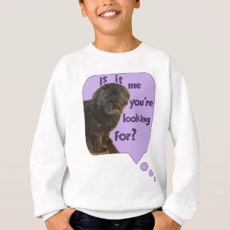 Cute Dog looking for You Sweatshirt