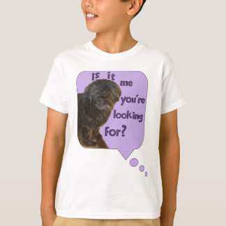 Cute Dog looking for You T-Shirt