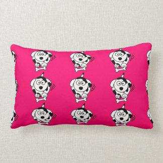 Cute Dog Lumbar Pillow