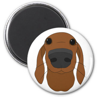 Cute Dog Nose magnets