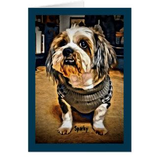 Cute Dog Note Card