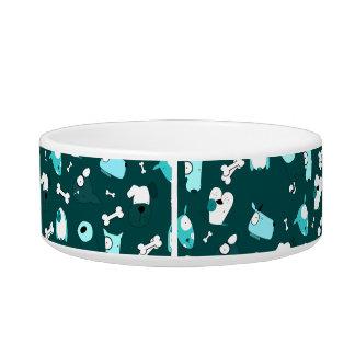 Cute dog pattern bowl