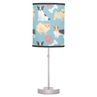 Cute Dog Pattern Desk Lamp