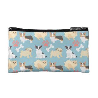 Cute Dog Pattern Makeup Bag