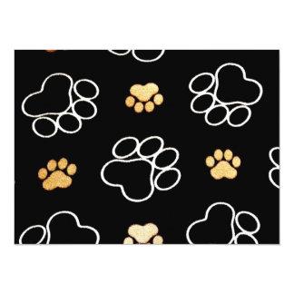 Cute Dog Paws Card