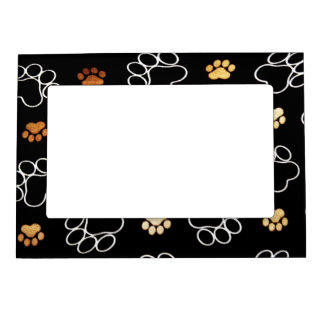 Cute Dog Paws Magnetic Picture Frame
