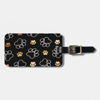 Cute Dog Paws Tag For Luggage