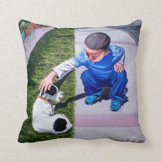 Cute dog - Perro lindo Throw Pillow