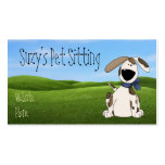 Cute Dog Pet Business Cards