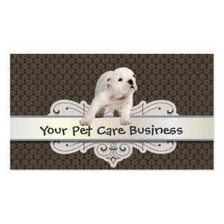 Cute Dog Pet Care business card