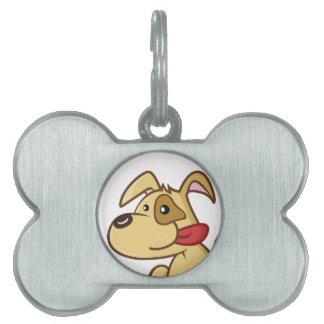 Cute dog pet tag