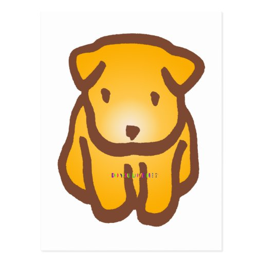 Cute Dog Post Cards