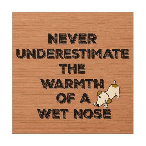Cute dog quote wood wall decor zazzle for Cute wall decor