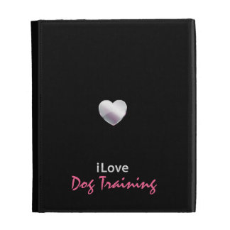 Cute Dog Trainer iPad Folio Cover