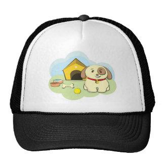 Cute dog trucker hat