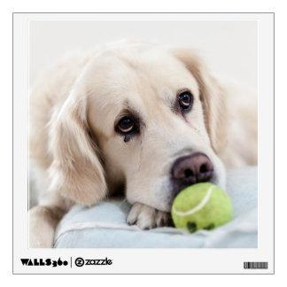 Cute Dog wall decal 2