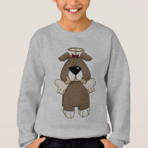 Cute Doggie Angel Sweatshirt