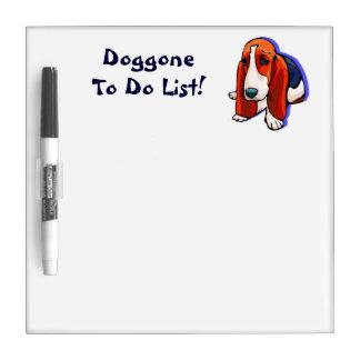 Cute Doggone To Do List Dry Erase Board