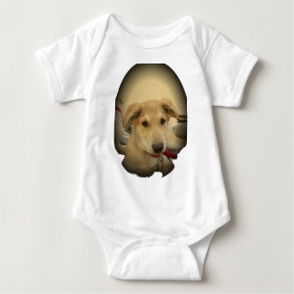Cute Dogs and Puppies Mans second Best Friend.png Baby Bodysuit