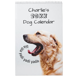 Cute Dogs or YOUR Photos custom calendar
