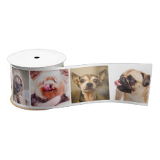 Cute Dogs OR YOUR PHOTOS custom ribbon