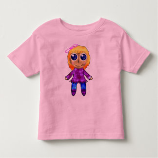 Cute Doll Toddler T-shirt