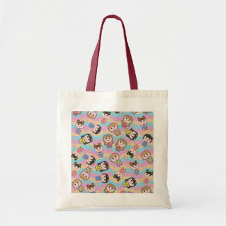 Cute Dolls Vector Pattern Bag