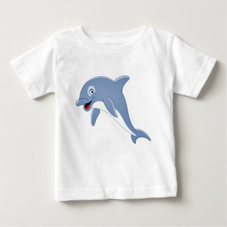 Cute Dolphin Baby T-Shirt