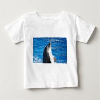 Cute Dolphin Beach Peace Love Party Destiny Baby T-Shirt