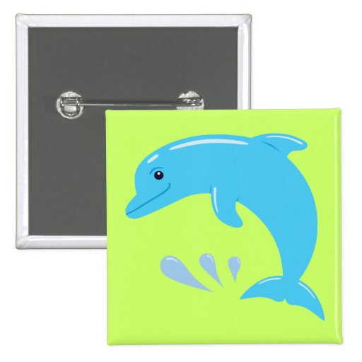Cute Dolphin Buttons
