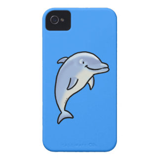 Cute dolphin iPhone 4 case
