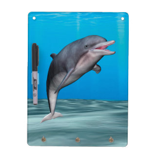 Cute Dolphin Dry Erase Board