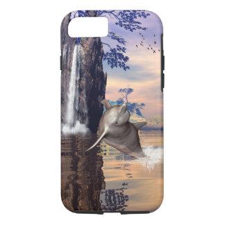Cute dolphin iPhone 8/7 case