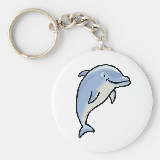Cute dolphin keychain