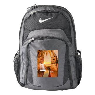 Cute dolphin nike backpack
