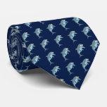Cute Dolphin Pattern Tie