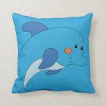 cute dolphin pillow