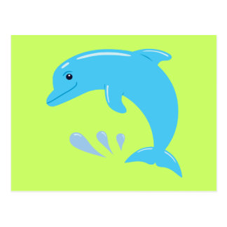 Cute Dolphin Postcard