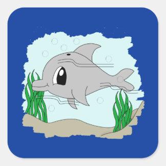 Cute Dolphin Sticker
