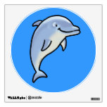 Cute dolphin wall stickers