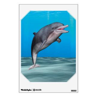 Cute Dolphin Wall Skin