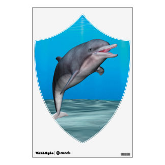 Cute Dolphin Room Decals