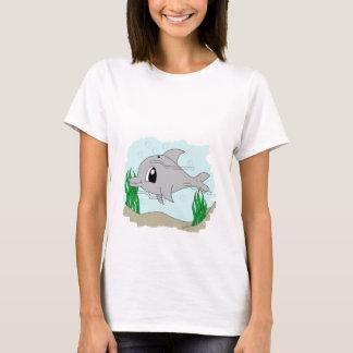 Cute Dolphin Woman T-Shirt
