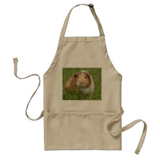 Cute Domestic Guinea Pig Adult Apron