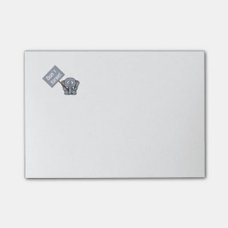 Cute Don't Forget Elephant Post-It-Notes Post-it® Notes