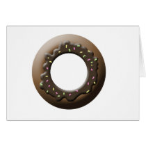 Cute Donut Card