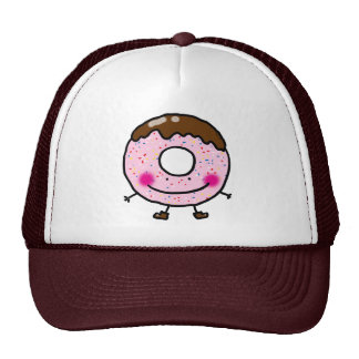 Cute donut (doughnut) trucker hat