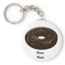 Cute Donut Keychain