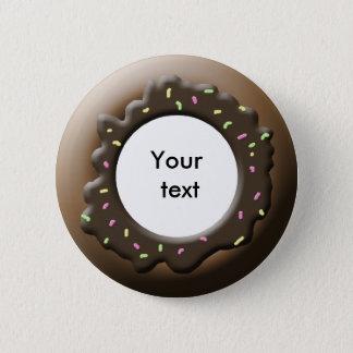 Cute Donut Pinback Button